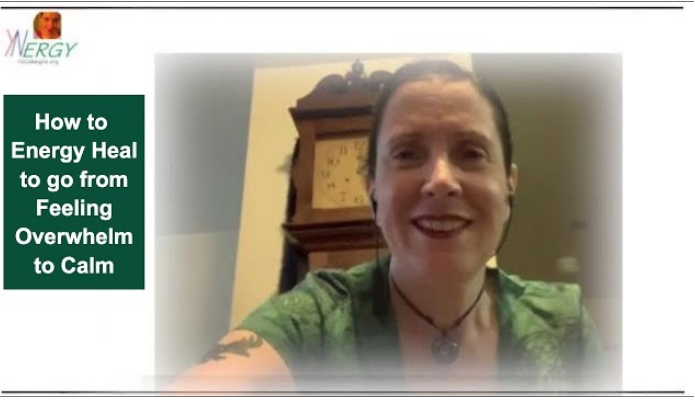 Screenshot from video 237 (How to energy heal to go from feeling overwhelmed to calm)
