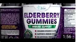 Picture of Elderberry Gummies bottles